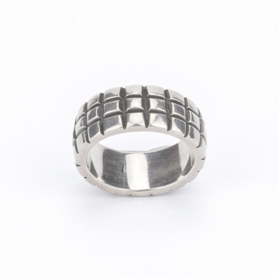 artest-milano-anello-fascia-argento-925-scacchi