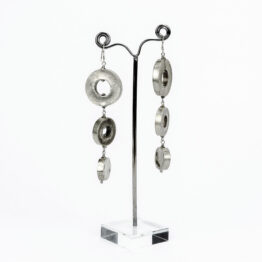 OR20-007-artest-milano-orecchini-pendenti-vintage-argento-925-pendenti-3-cerchi